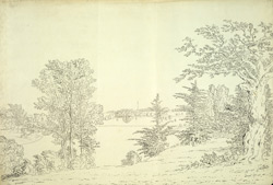 Blenheim Park, toward Rosamond's Well